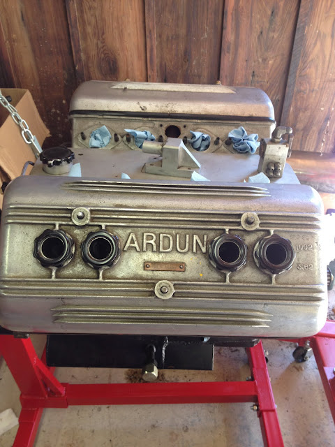 Legendary Doug King Ardun Race Engine.