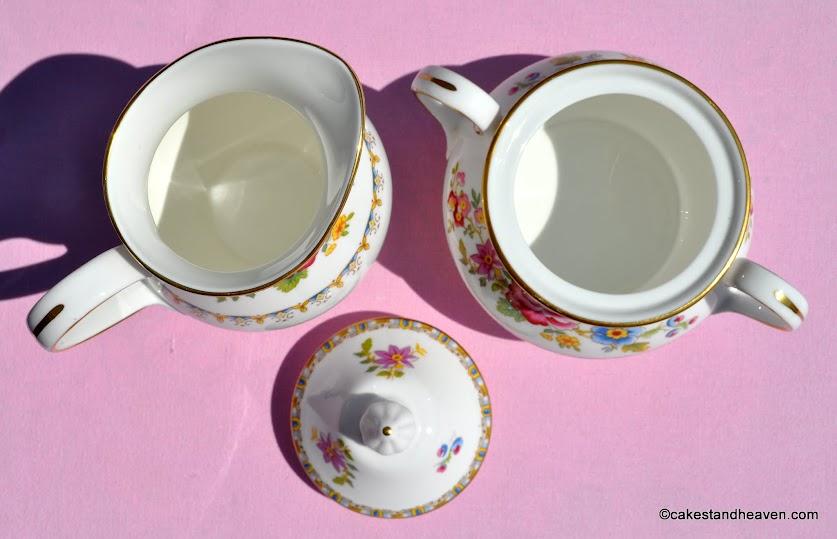 Malvern Pattern Milk Jug and Sugar Bowl
