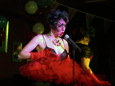 Volupte cabaret show in London