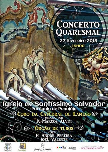 Concerto Quaresmal - Igreja de Santíssimo Salvador - Penajóia -  22 de fevereiro