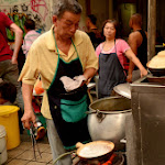 Herbata z rosołem w China Town