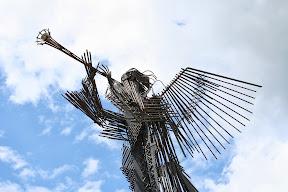 Skulptura u Černobilu