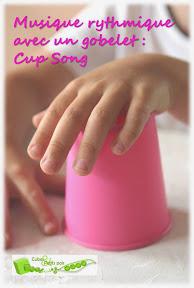 cup song musique rythme gobelet bébé