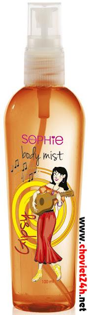 Nước xịt khử mùi cơ thể Sophie - BMST4
