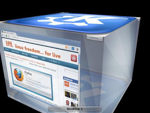 KDE e l'effetto Cubo come in Compiz