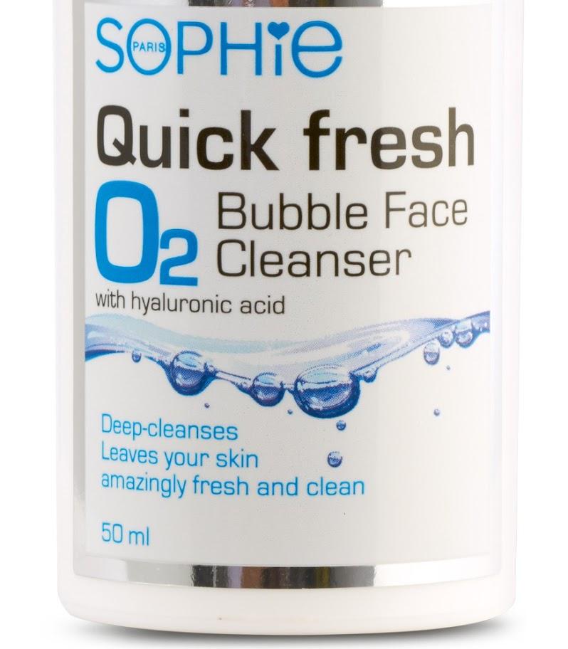 Sữa rửa mặt Quickfresh Bubble Sophie - QFBFC
