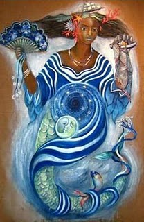 Yemaya African Mother Goddess Image
