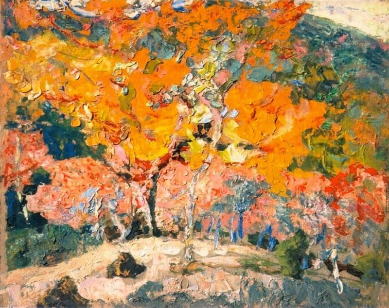 Victor Charreton - Autumn in Crouzols