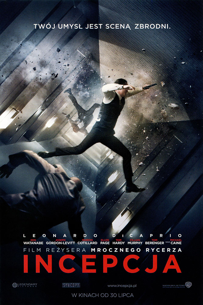 Ulotka filmu 'Incepcja (przód - wersja C)'