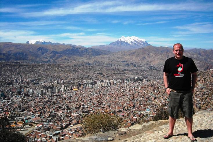 Dr. Joel Rookwood, El Alto, Bolivia