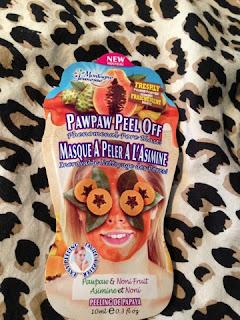 Pawpaw Peel Off Montagne Jeunesse Face Masks