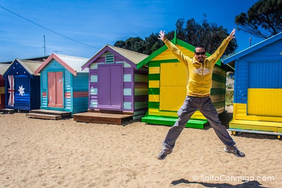 Australia, Melbourne, Brighton Beach