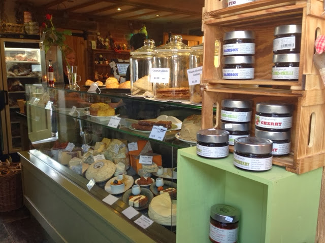 The deli at Oakley Grange