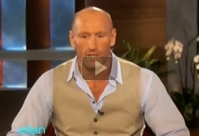 Ellen DeGeneres - Openly Gay Rugby Star Gareth Thomas