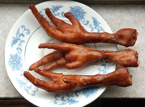 25K: Eat What? : Chicken Feet-Blood on a Stick