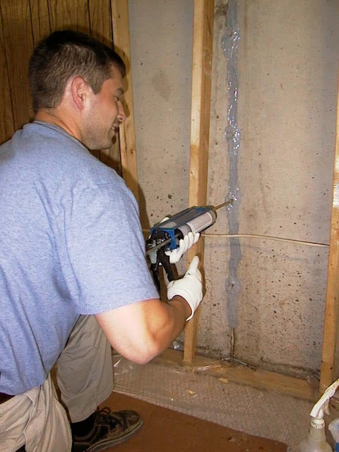 basement wall cracks let water into a basement this reduces the air