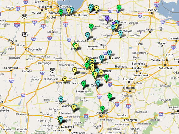 Indiana LEED Certified Projects Visualized through Google Maps ...