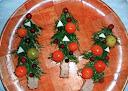 Бутерброды новогодние - Елочка