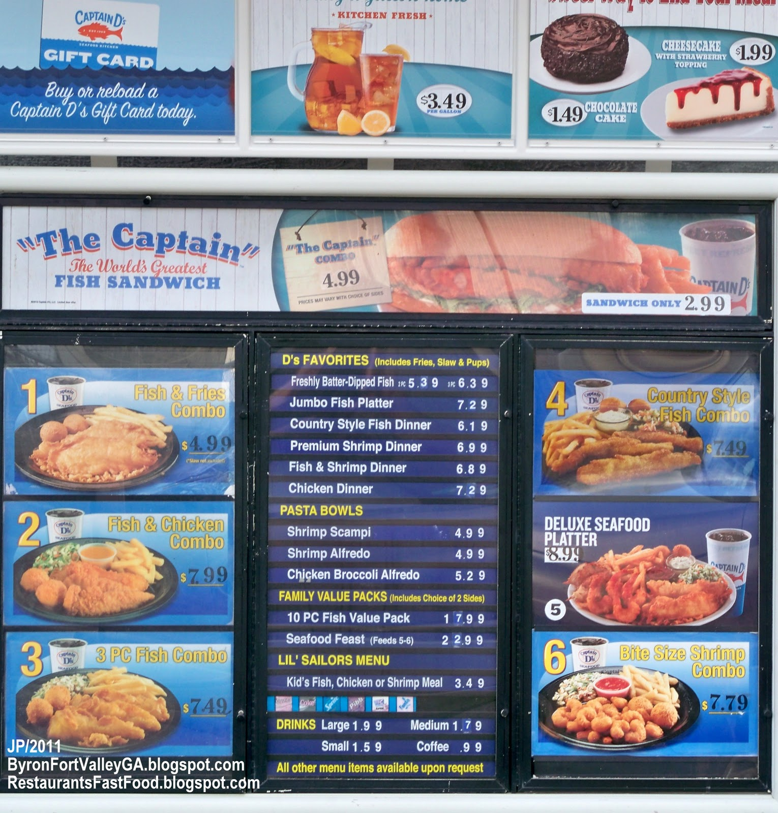 Coupons for captain d's seafood