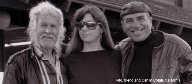 Вито, Карл и их друг в Котати, Калифорния