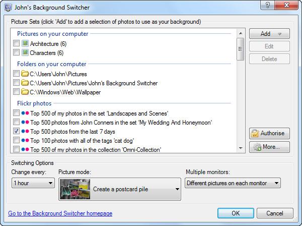 Software pengganti background dekstop otomatis yang paling lengkap