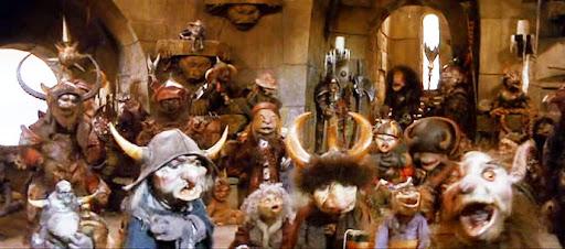 """Algunas de las criaturas que Henson creó para """"Into the Labyrinth"""" (""""Dentro del Laberinto""""), película de 1986 en la que Jim Henson contó con George Lucas"""