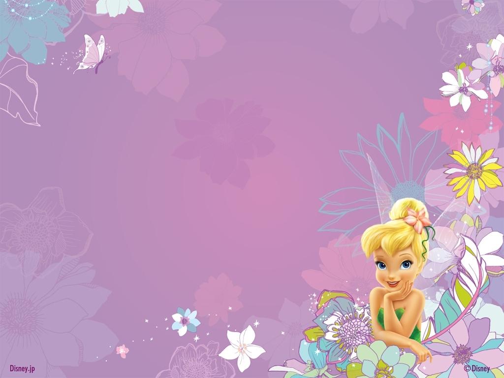 Disney Tinkerbell Cartoon Kids Wallpaper