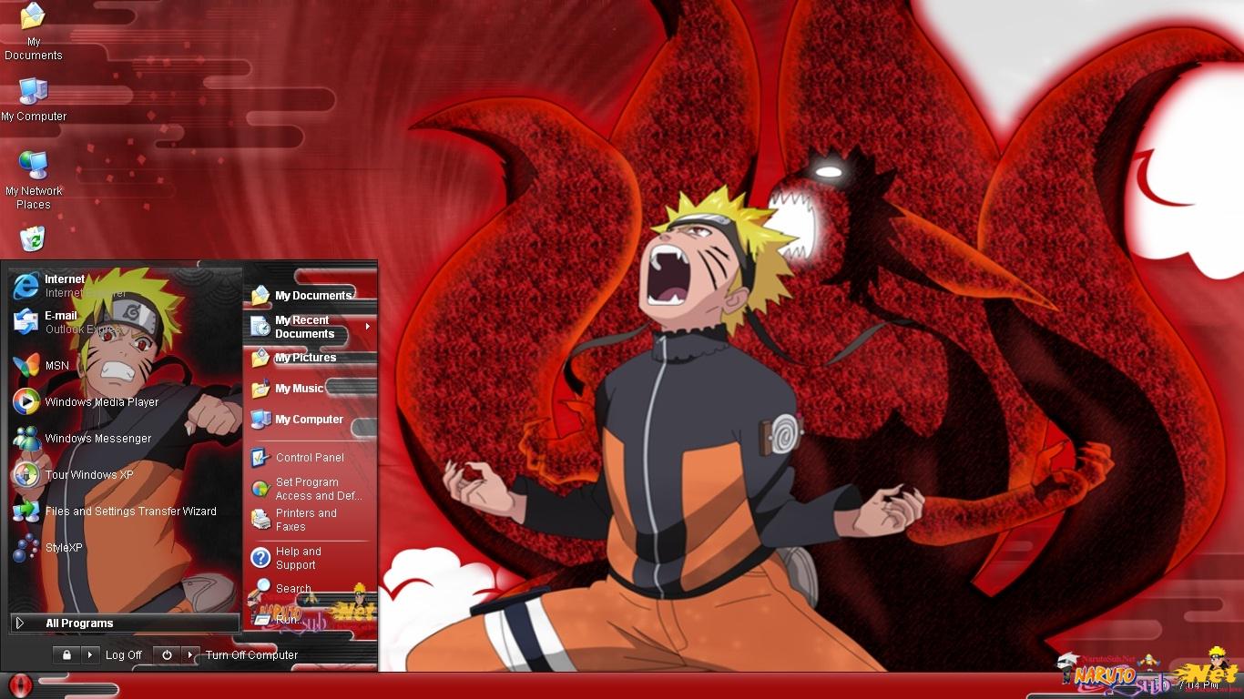 [XP Themes]  Naruto Theme Style 2 for XP Nrt-narutoxp