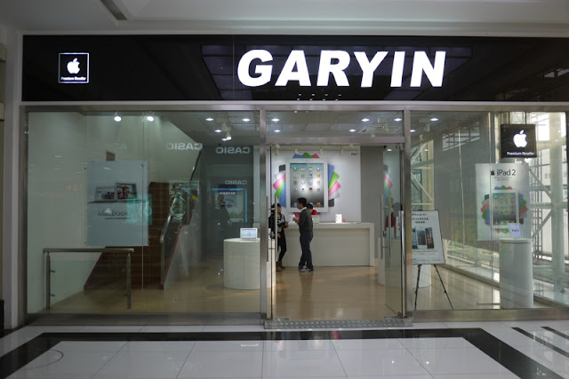 authorized Apple retailer Garyin in China