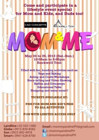 announcement, giveaways, giveaway alert, events, Mother's Day, mummy events