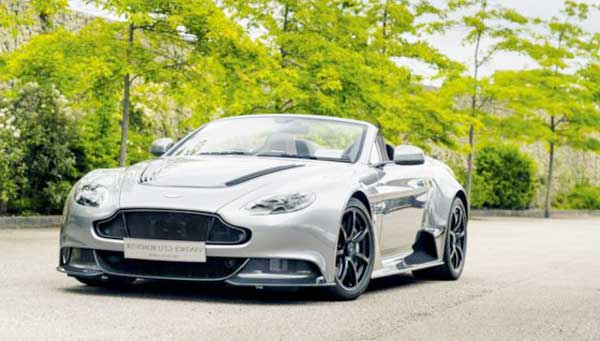 2016 Aston Martin Unveiled Custome-Made GT12 Roadstar