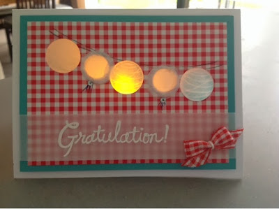 STampin up Happy Congratulations
