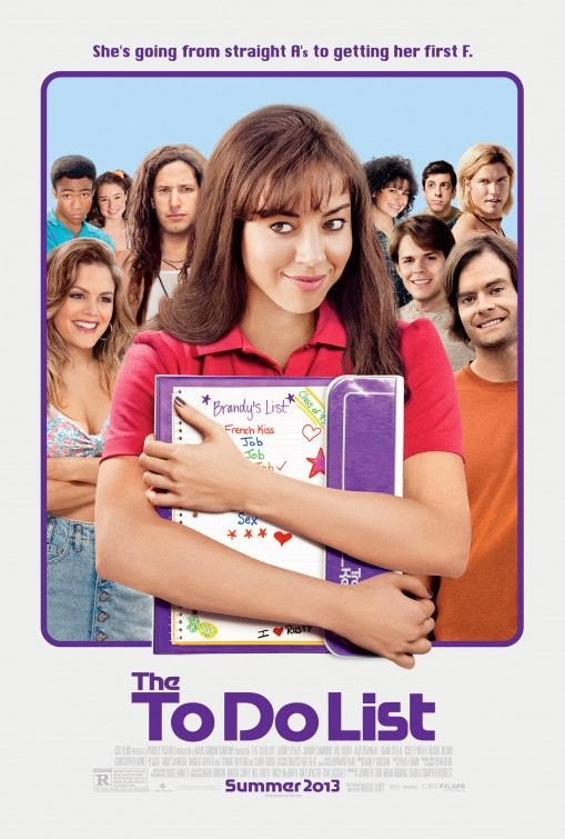 Poster Of English Movie The To Do List (2013) Free Download Full New Hollywood Movie Watch Online At Alldownloads4u.Com