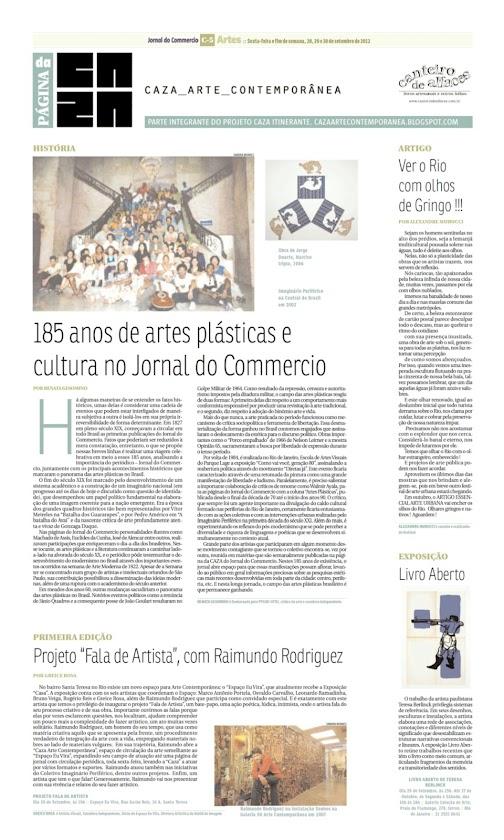 Página da Caza - 20 de Setembro de 2012