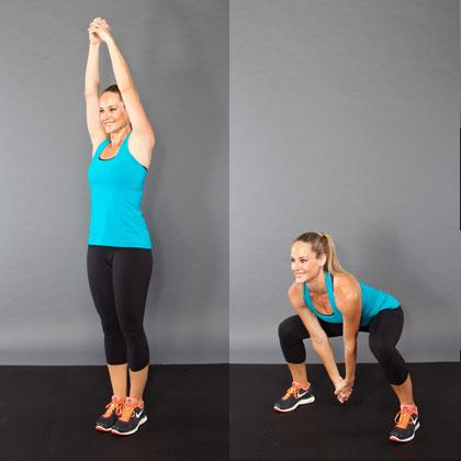 CHOP SQUAT JACKS