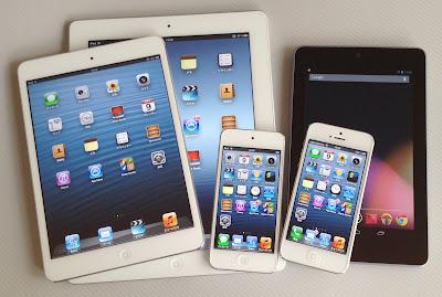 iPad mini iPad3 iPod touch 5G iPhone5 Nexus7