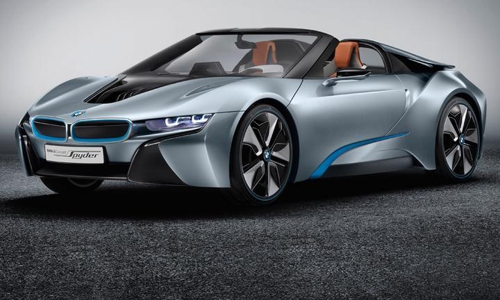 BMW i8 Spyder car