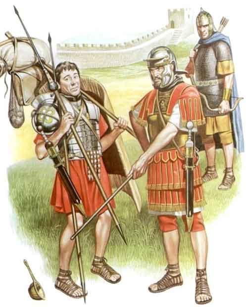 Легионы Древнего Рима
