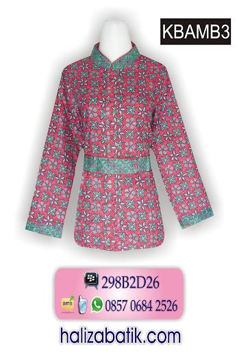 baju batik wanita lengan panjang, grosir batik pekalongan murah, baju batik modis