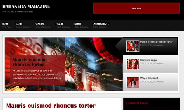 Habanera Magazine WordPress Theme
