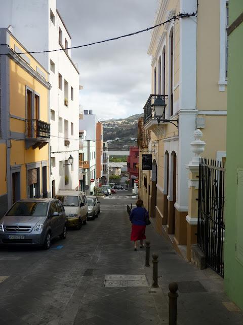 Straße in Arucas