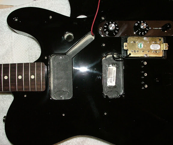 fender blacktop tele standard tele project the gear page. Black Bedroom Furniture Sets. Home Design Ideas