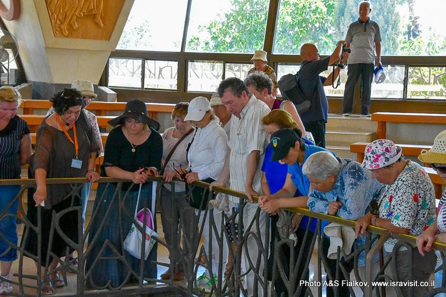 Экскурсия гида в Галилее христианской Светланы Фиалковой.