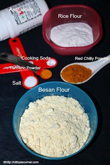 Bajji, Bonda and Pakoda Mix| Bajji Bonda Powder |Bajji Bonda Powder Recipe