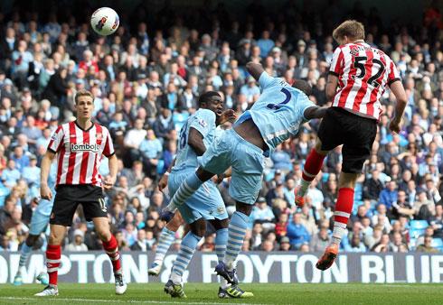 Nicklas Bendtner, Manchester City - Sunderland