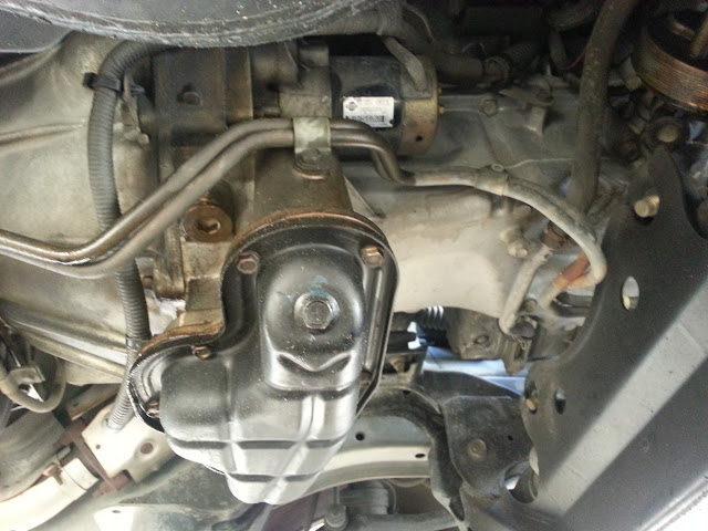 Photo Starter Replacement Procedure Nissan Pathfinder ...