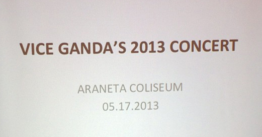 Vice Ganda Araneta Concert May 17, 2013