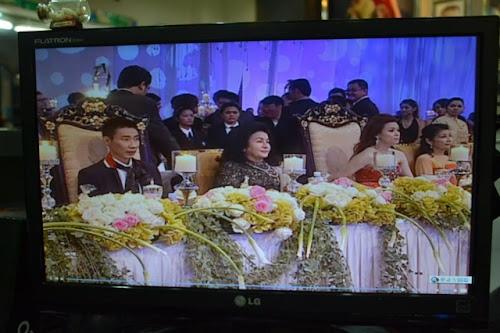 isteri perdana menteri, Rosmah Mansor ke majlis resepsi perkahwinan