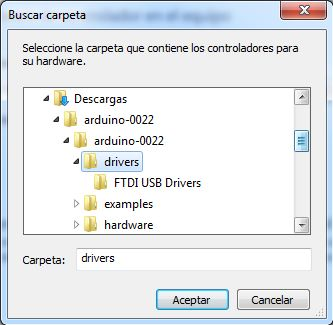 Instalación software IDE de desarrollo y controladores para conectar Arduino con un PC con Windows 7