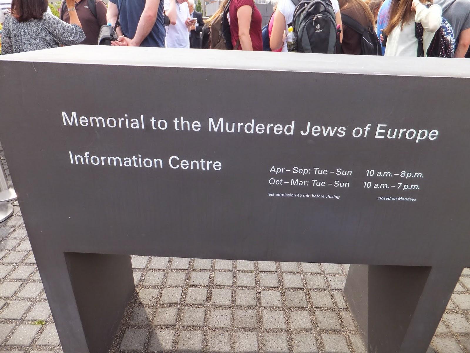 Memorial del Holocausto, Holocaust Mahnmal, Berlín, Elisa N, Blog de Viajes, Lifestyle, Travel